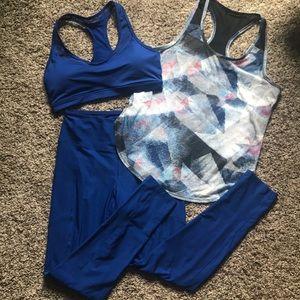 3 piece Marika activewear set M